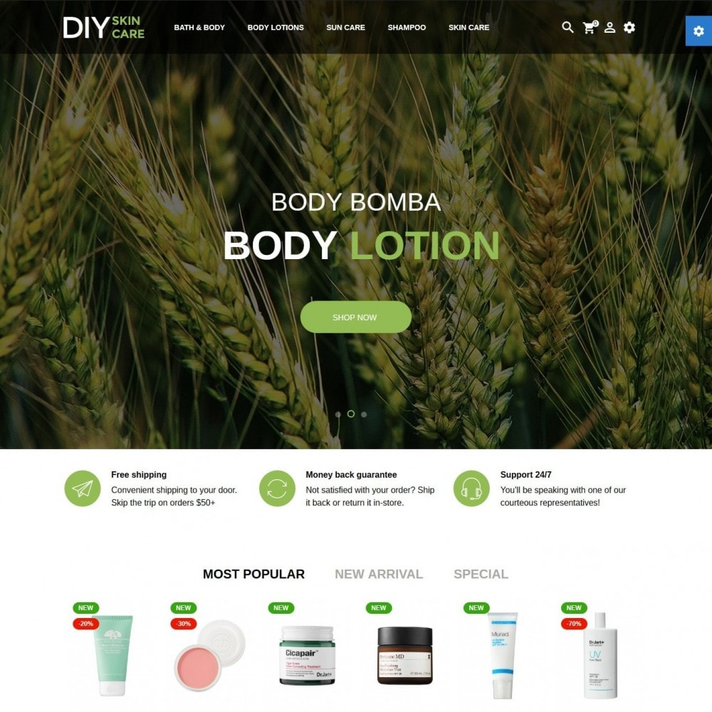 theme - Health & Beauty - DIY skin care Cosmetics - 2
