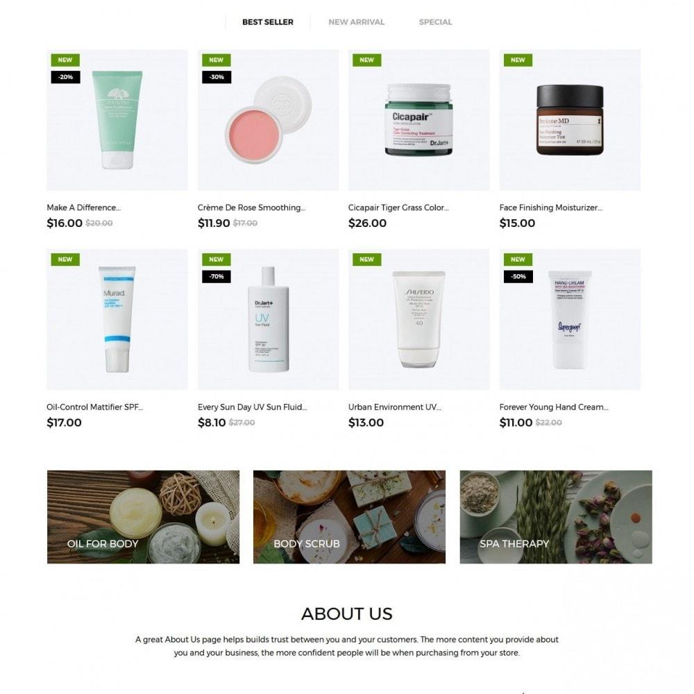 theme - Saúde & Beleza - Purely Cosmetics - 2