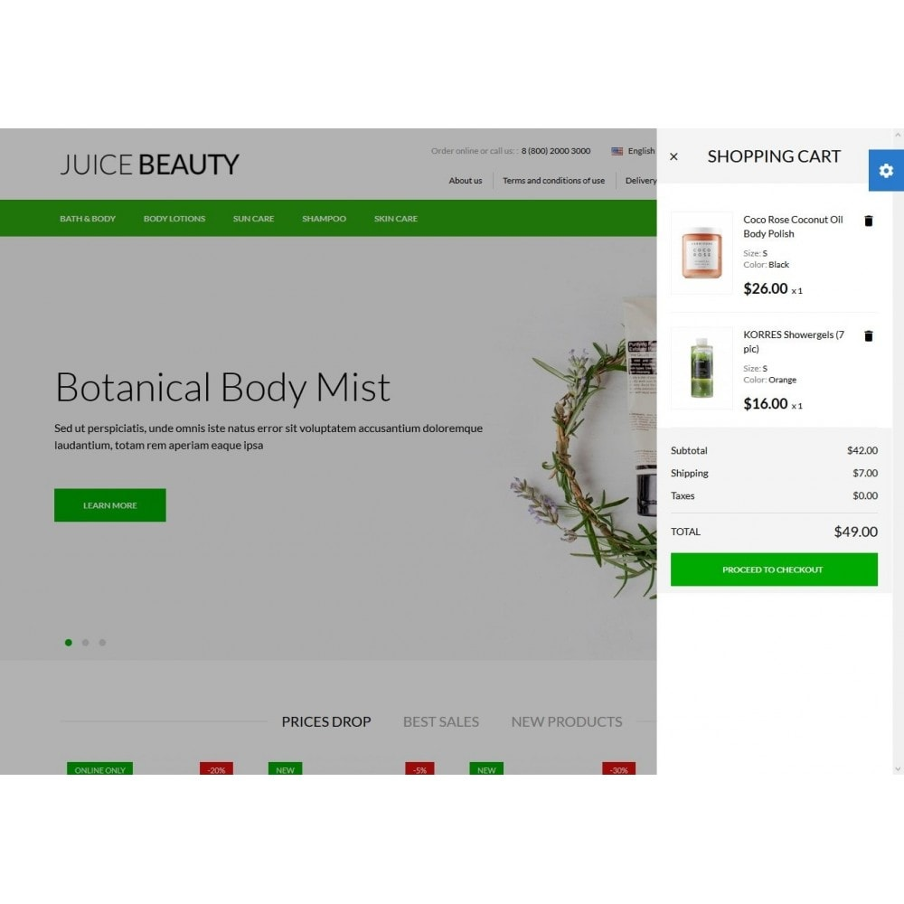 theme - Gesundheit & Schönheit - Juice Beauty Cosmetics - 3