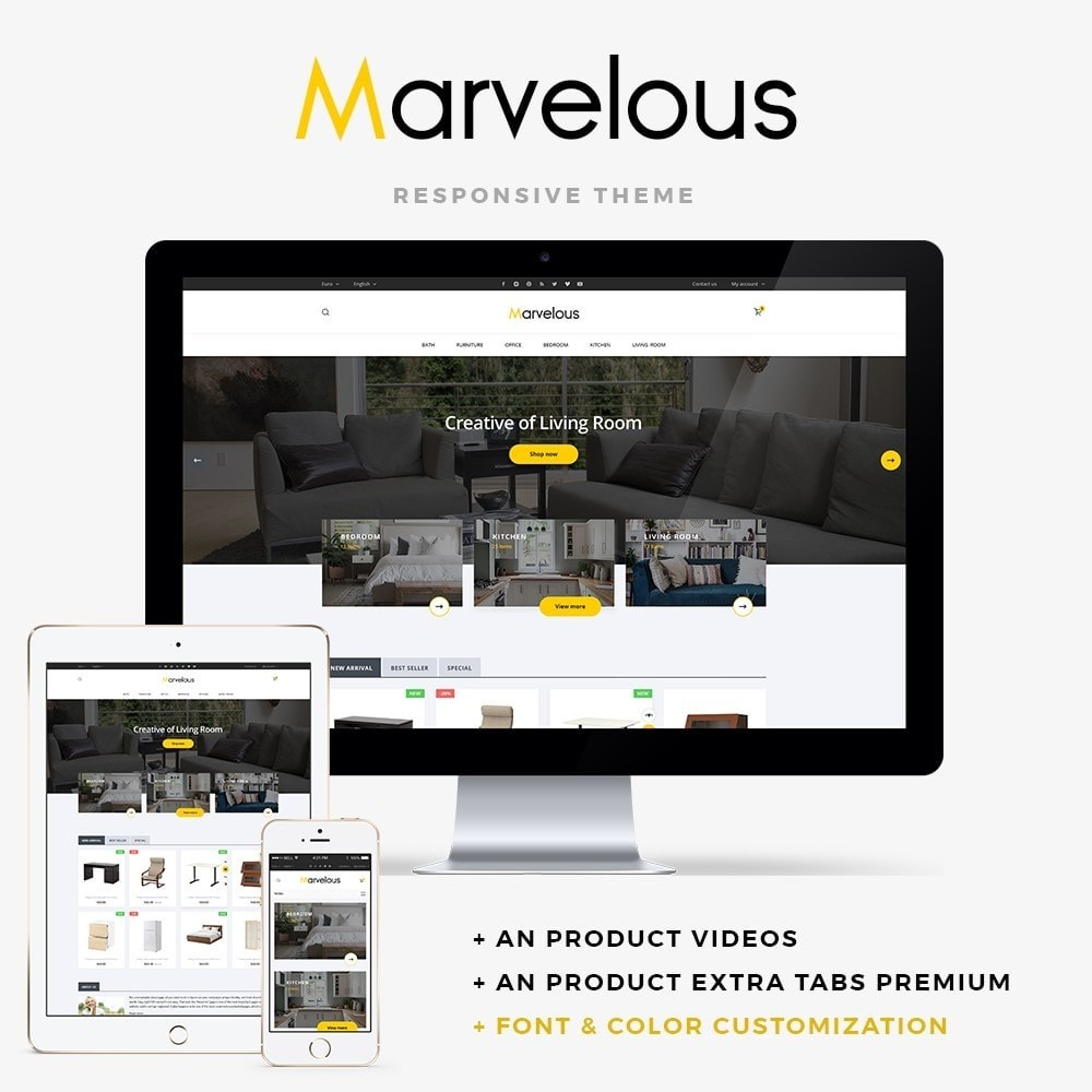 theme - Casa & Jardins - Marvelous - 1