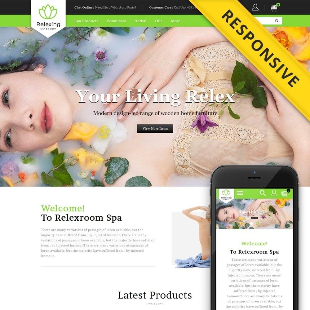theme - Здоровье и красота - Relaxing - Spa & Saloon Store - 1