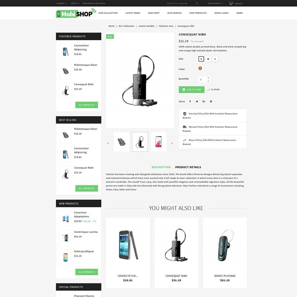 theme - PrestaShop Templates - Mobishop Onestop Mobile Store - 5