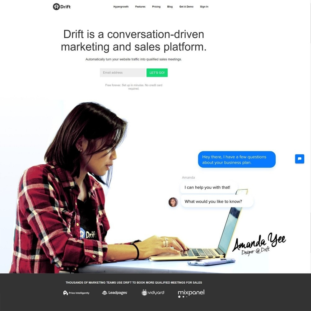 module - Support & Online Chat - Drift Live Chat Integration - 2