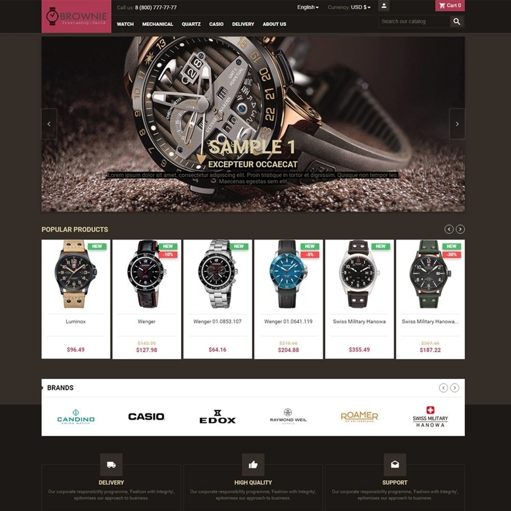 theme - Joyas y Accesorios - Brownie expensive products store - 2