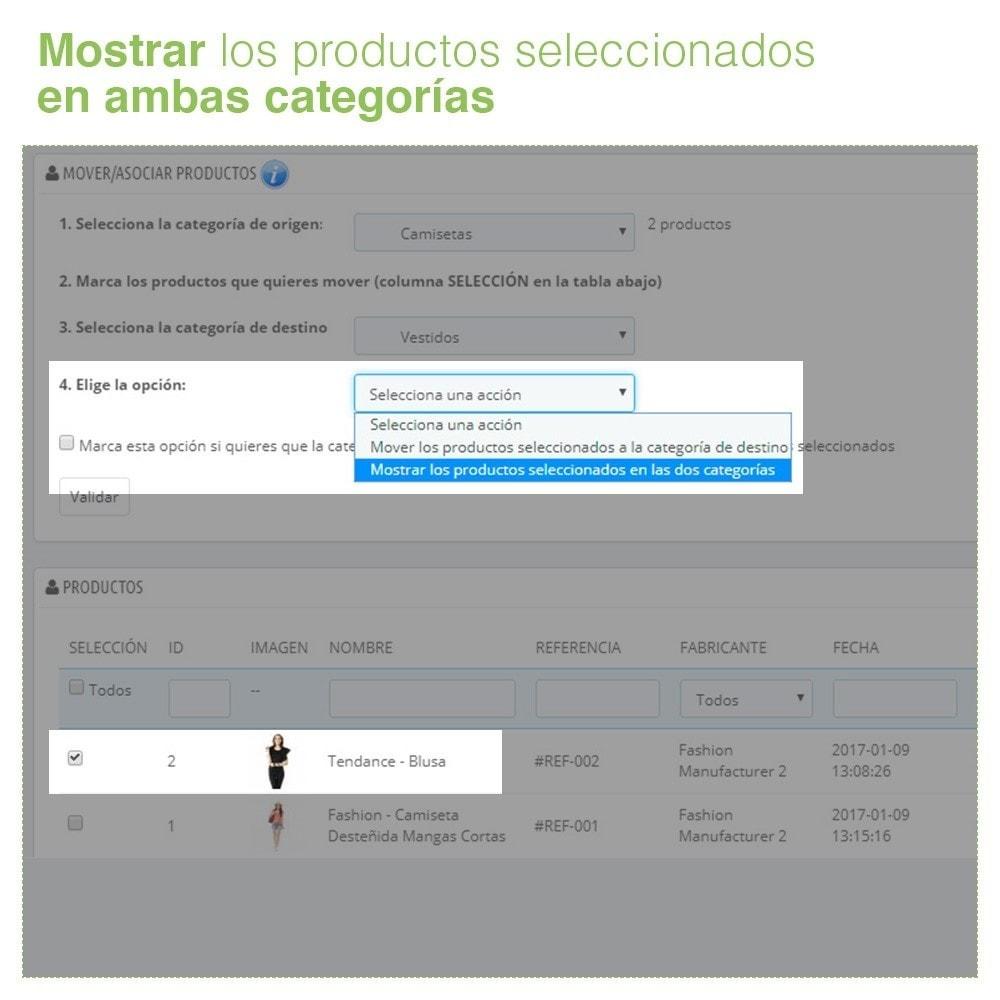 module - Edición Rápida y Masiva - Mover y Asociar Productos entre Categorías en Masa - 7