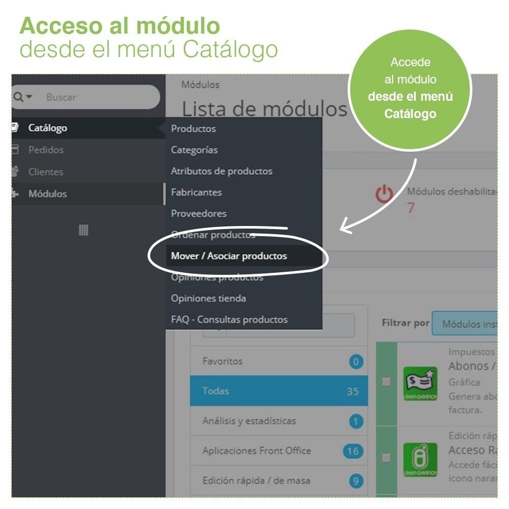module - Edición Rápida y Masiva - Mover y Asociar Productos entre Categorías en Masa - 9