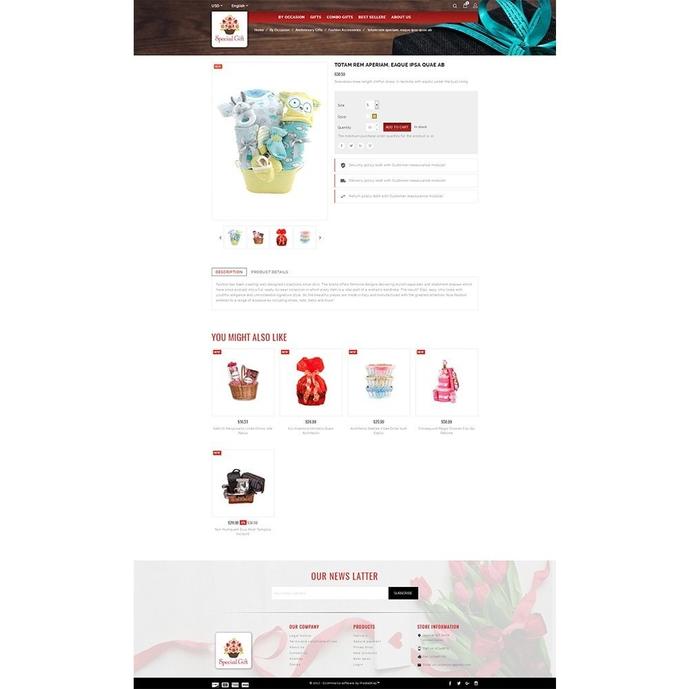 theme - Gifts, Flowers & Celebrations - Special Gift Store - 5