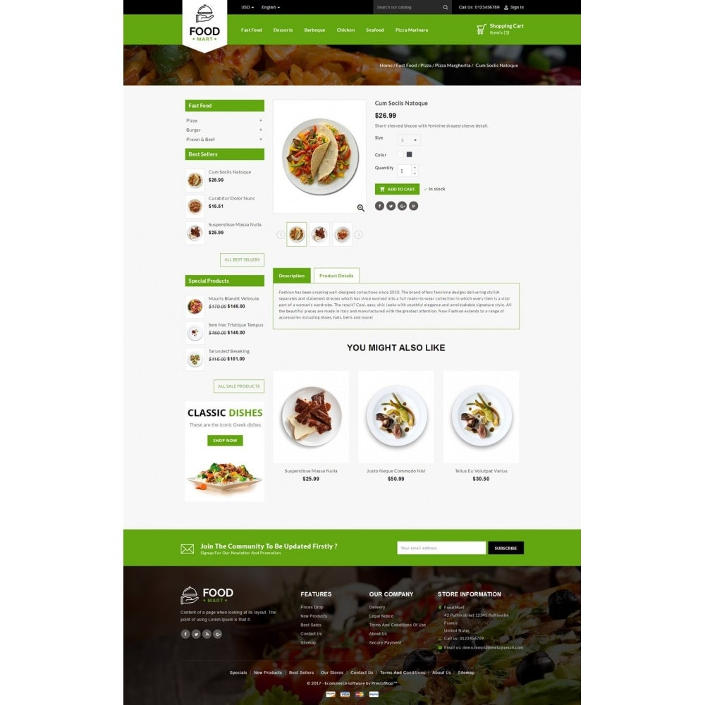 theme - Lebensmittel & Restaurants - Food Mart Store - 4
