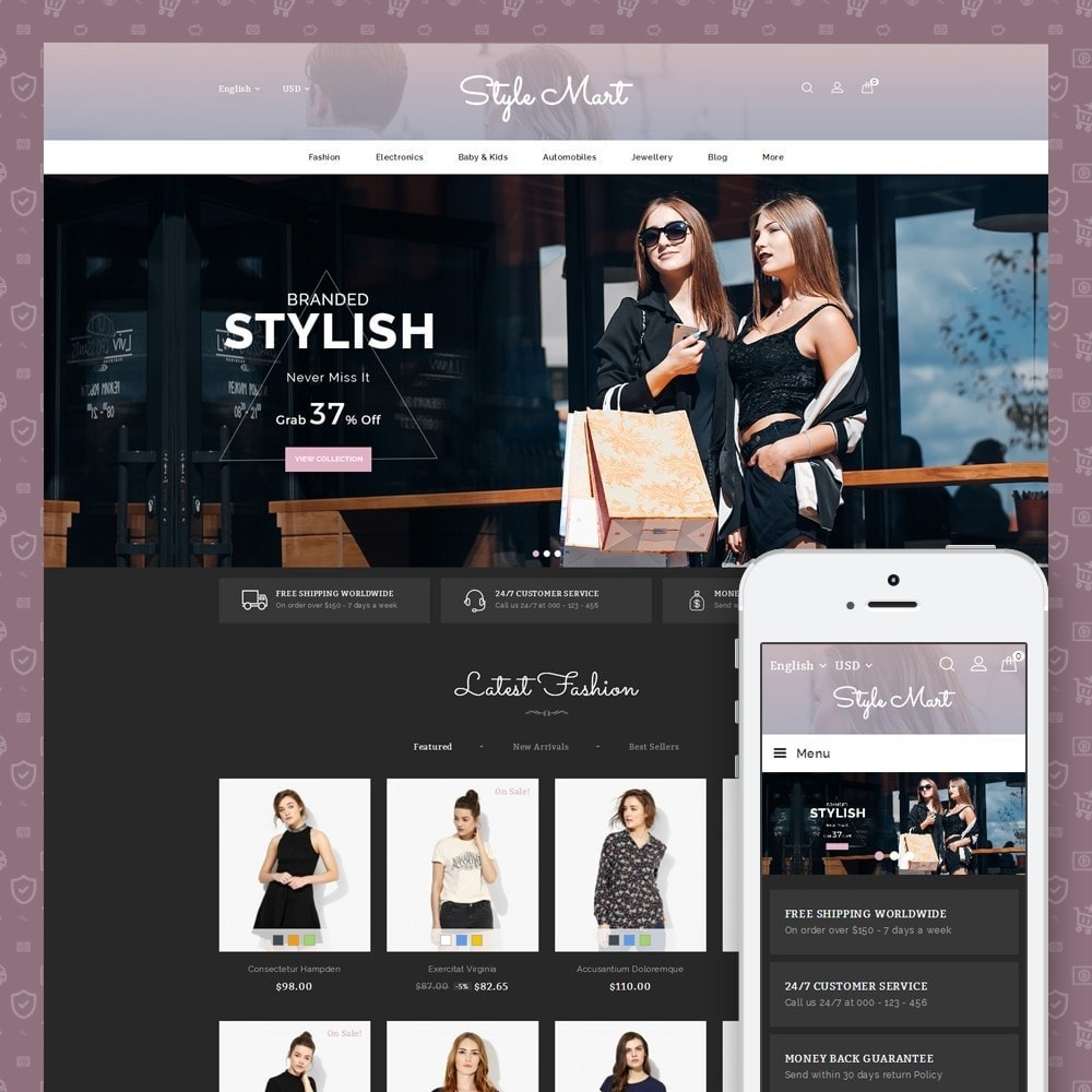 theme - Moda & Calzature - Style Mart - Fashion Store - 1