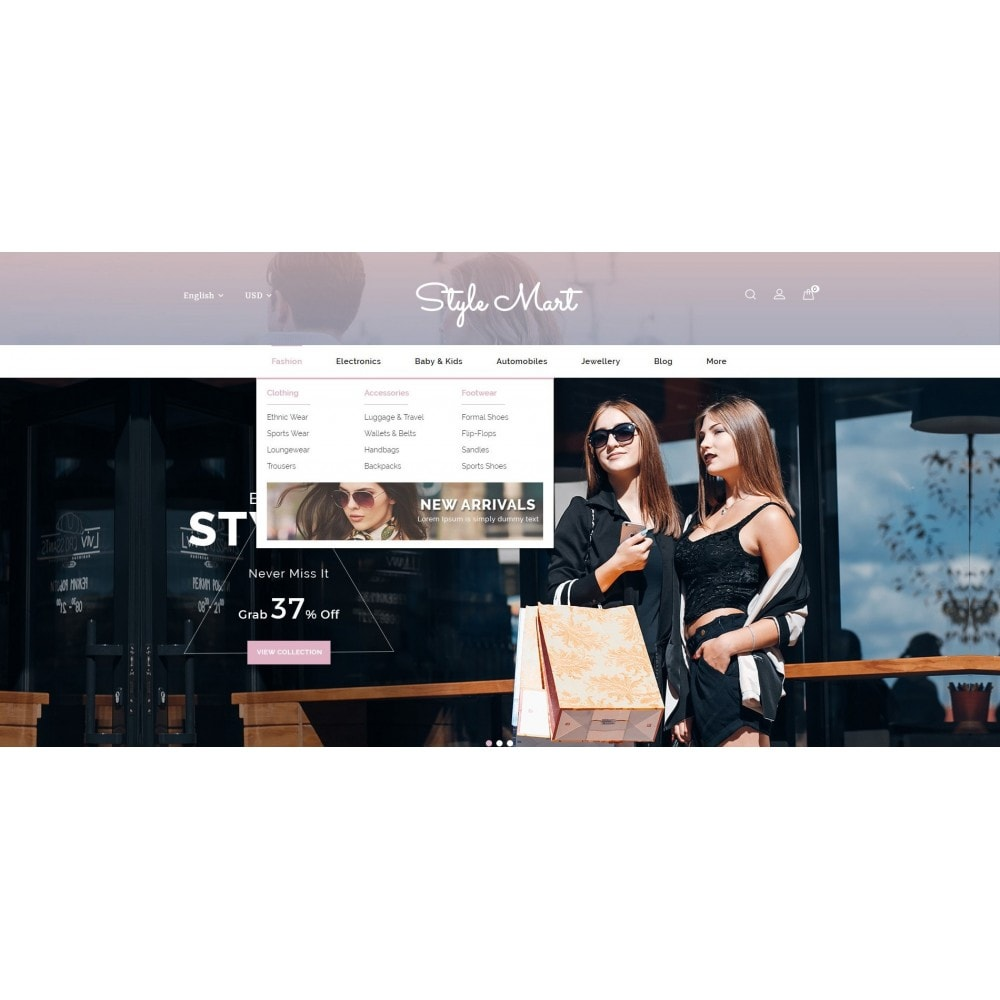 theme - Fashion & Shoes - Style Mart - Fashion Store - 8
