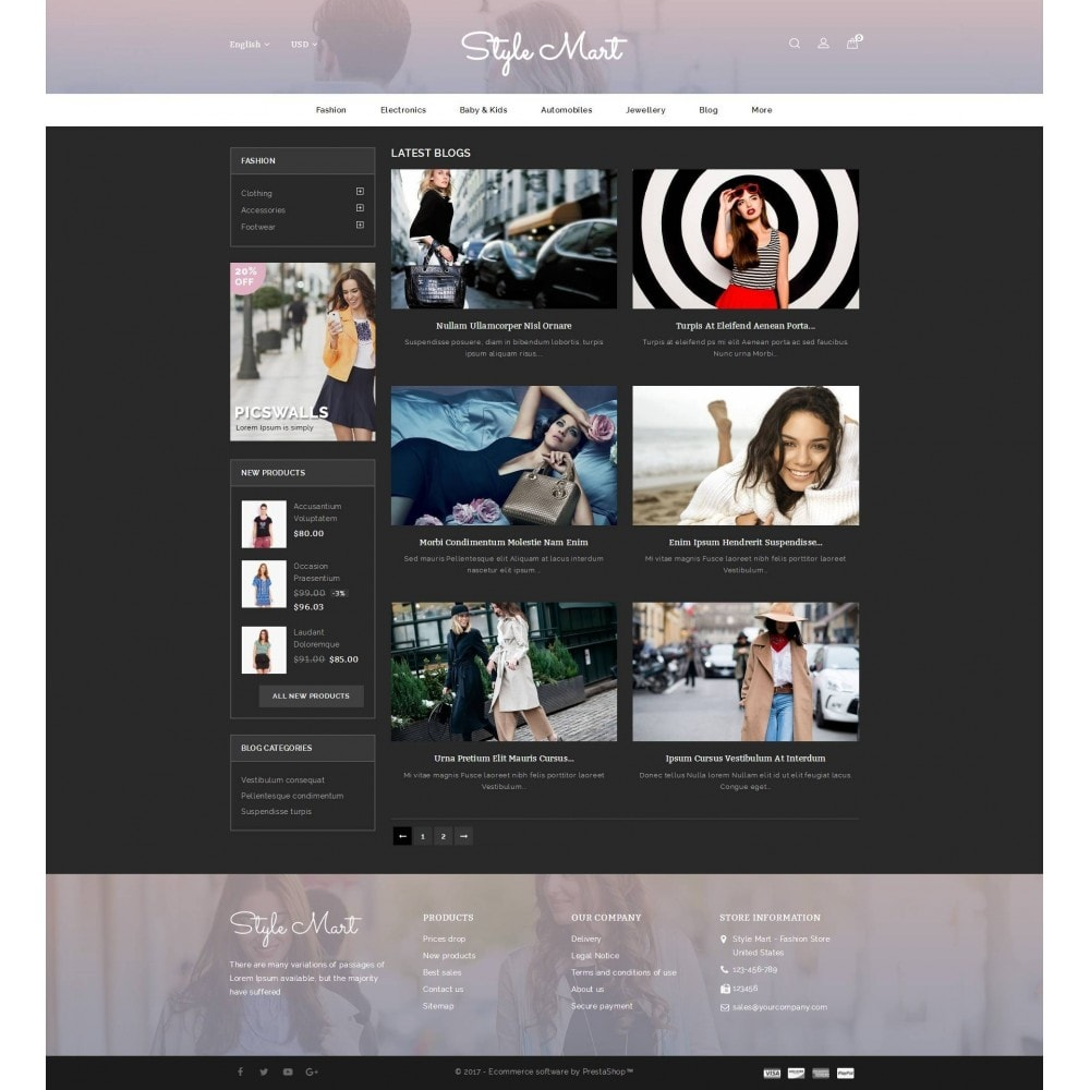 theme - Moda & Calzature - Style Mart - Fashion Store - 9