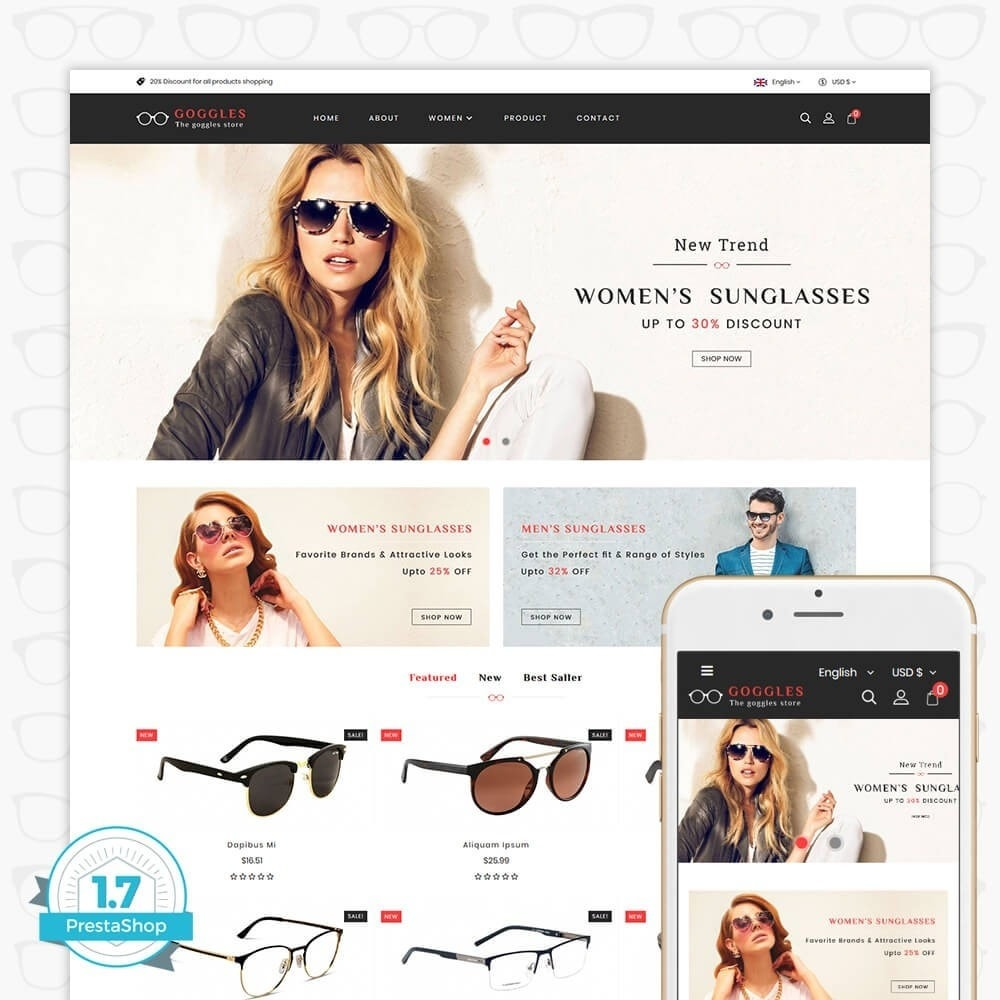theme - Mode & Chaussures - Goggles - The Goggles Store - 1