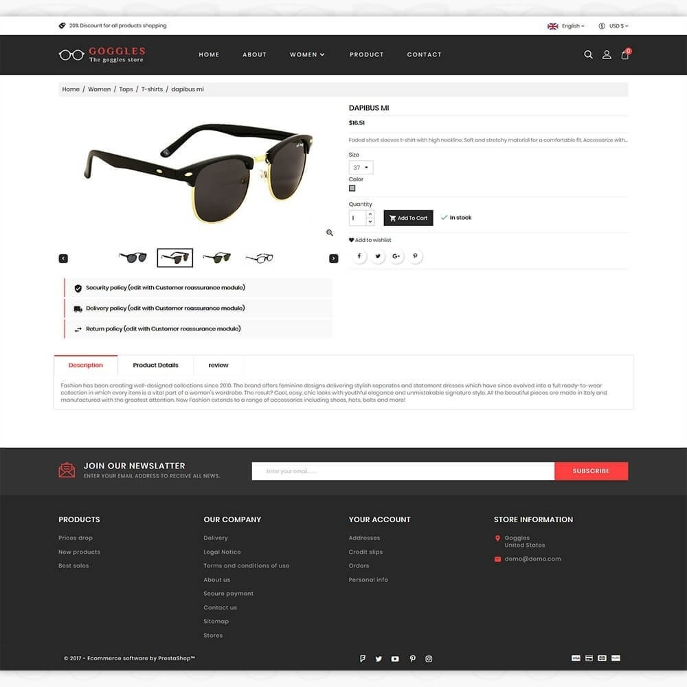 theme - Mode & Schuhe - Goggles - The Goggles Store - 5