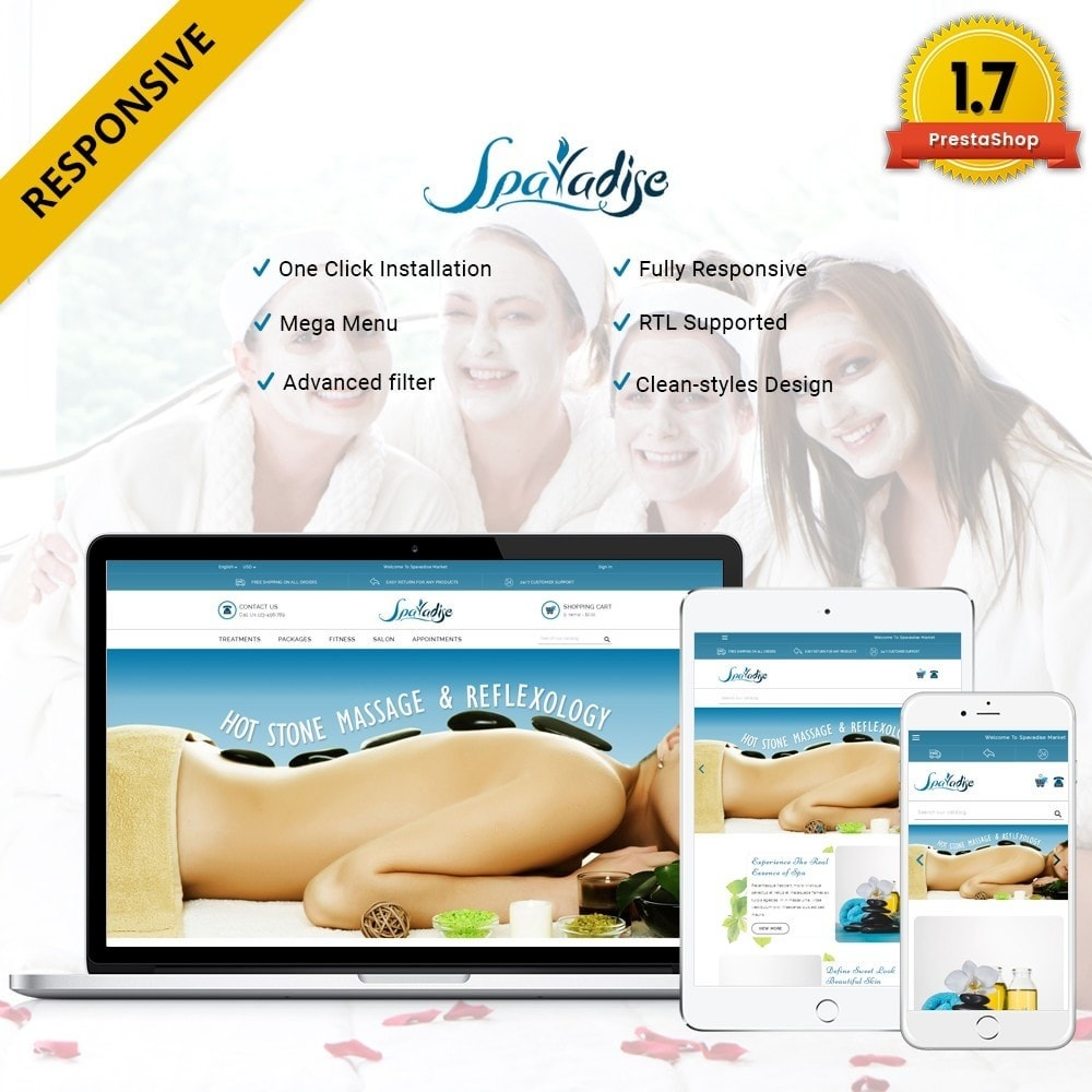 theme - Salute & Bellezza - Spaladies Store - 1