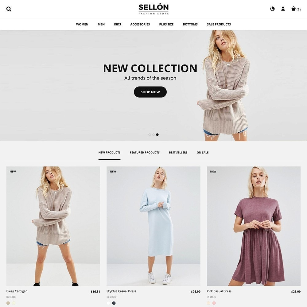 theme - Moda & Calzature - SELLON - 2