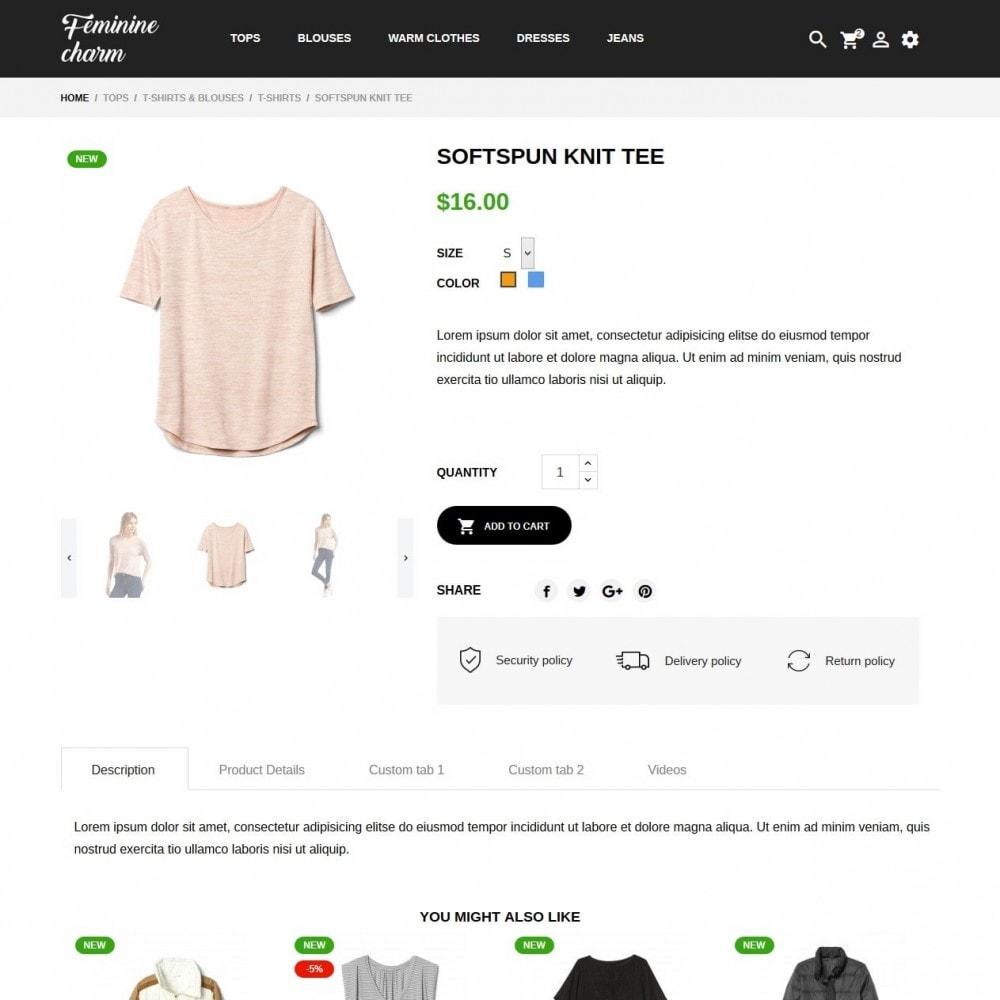 theme - Moda & Calçados - Feminine Charm - 6