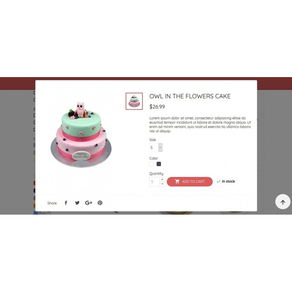 theme - Food & Restaurant - BeautyCake - 10