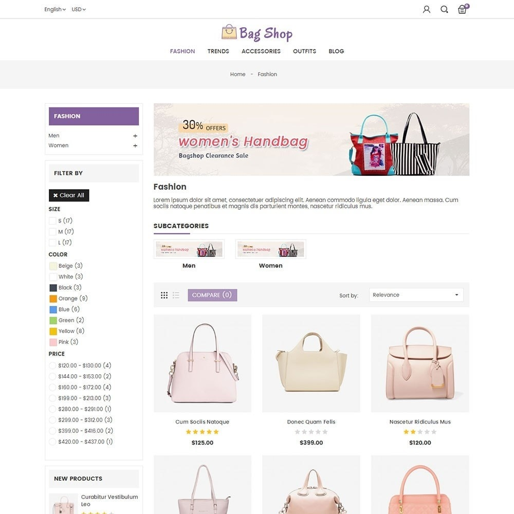 theme - Moda & Obuwie - Bag Shop - 3