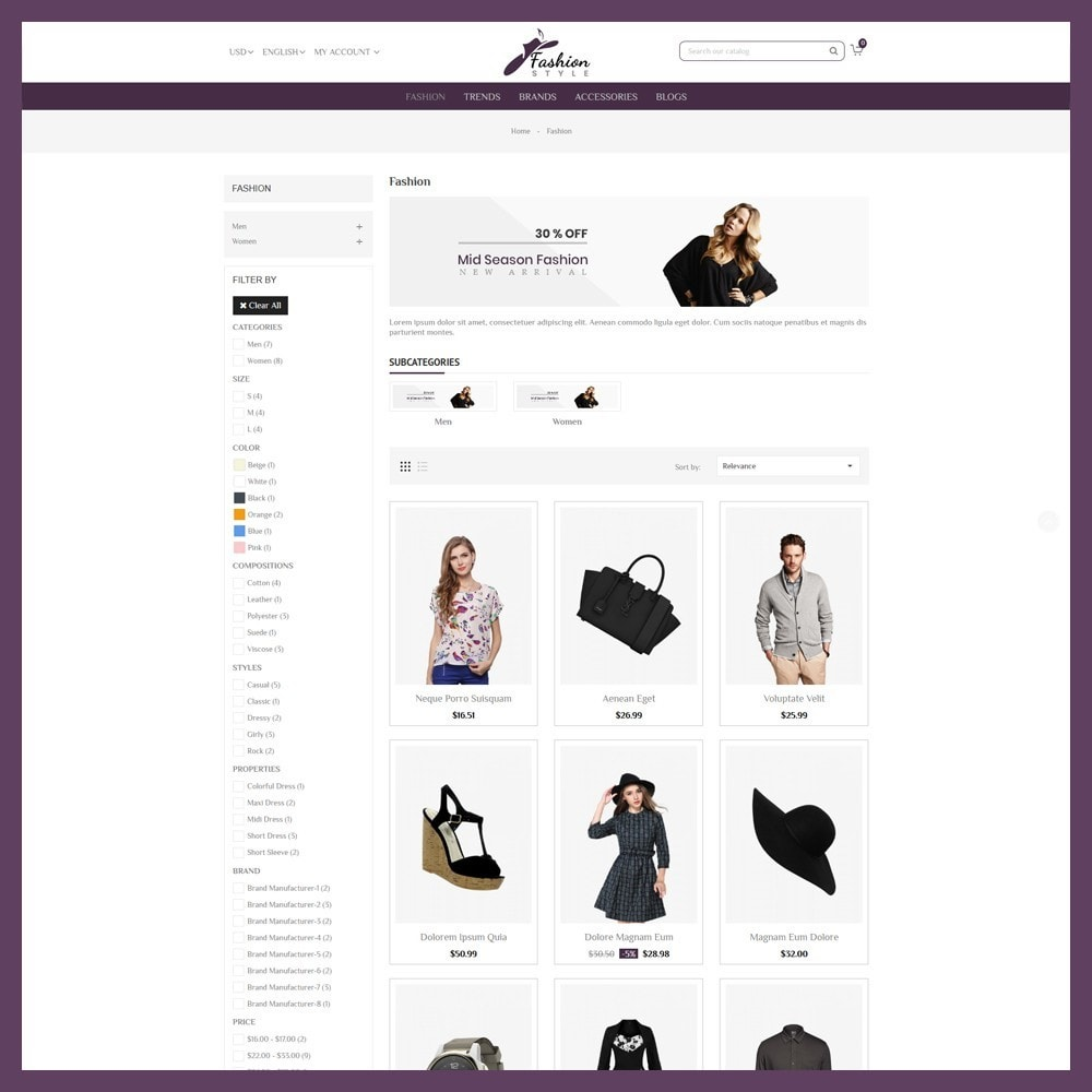 theme - Mode & Chaussures - Fashion Style Store - 4