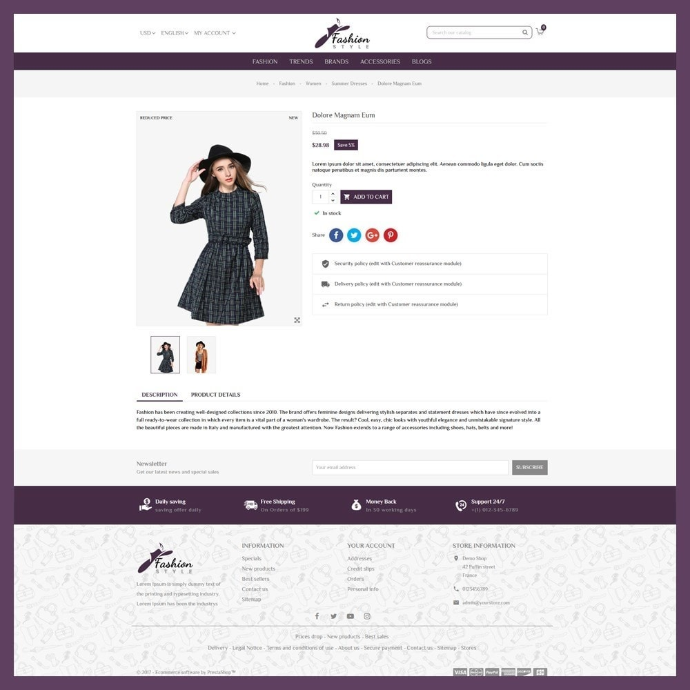 theme - Mode & Chaussures - Fashion Style Store - 6