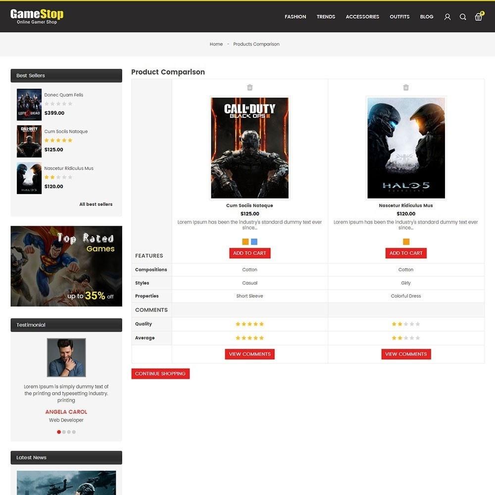 theme - Sport, Aktivitäten & Reise - Game Store - 7