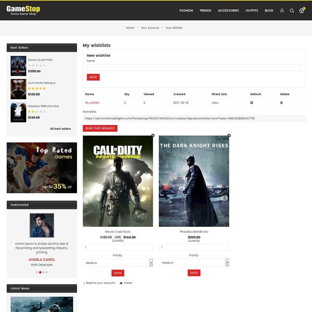 theme - Sport, Rozrywka & Podróże - Game Store - 8