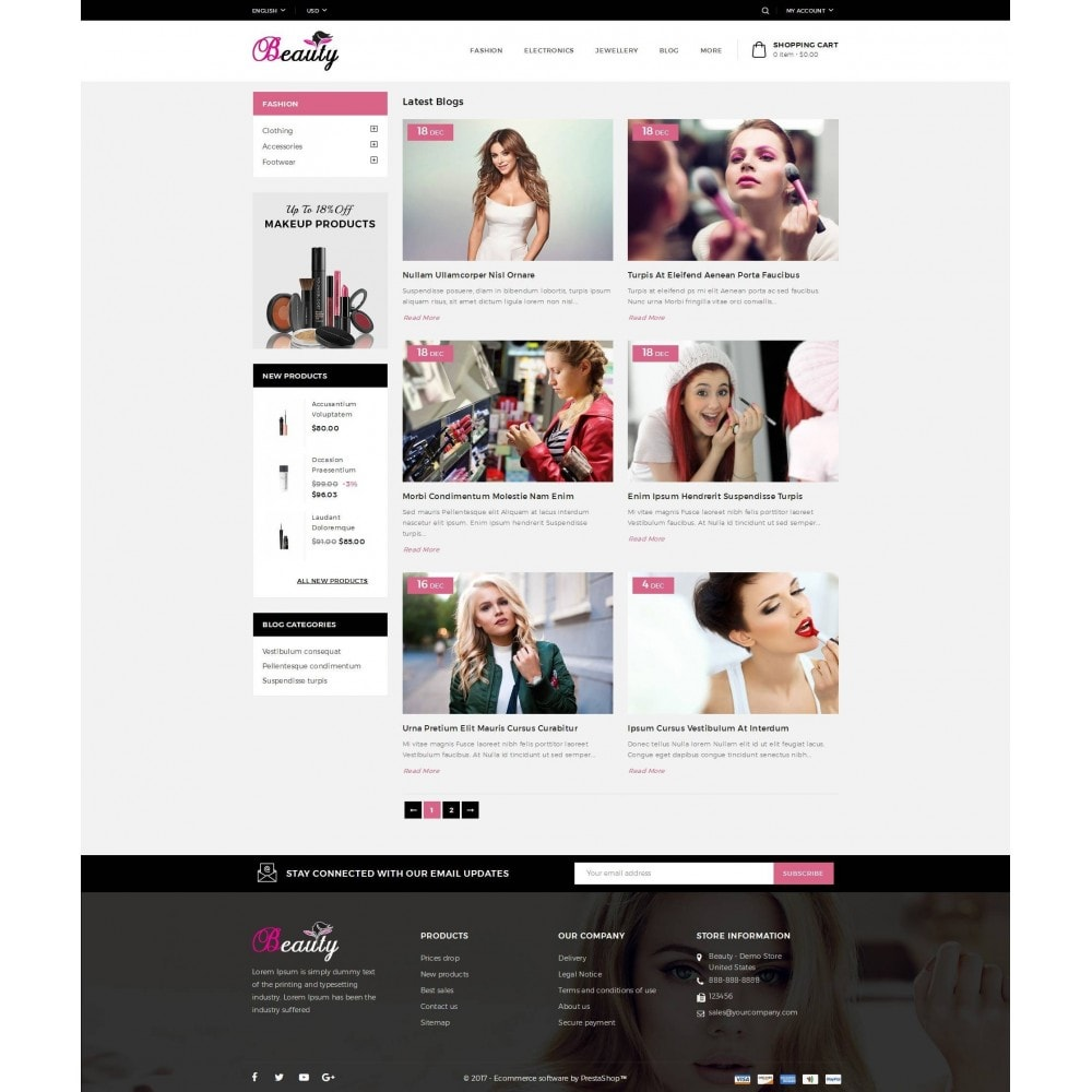 theme - Salute & Bellezza - Beauty Store - 9