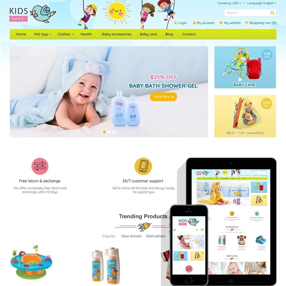 theme - Kinderen & Speelgoed - Kids Shop - All in one package - 1