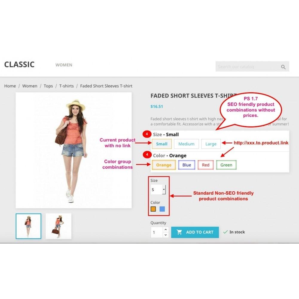module - Combinaciones y Personalización de productos - Ultimate SEO combination - 2