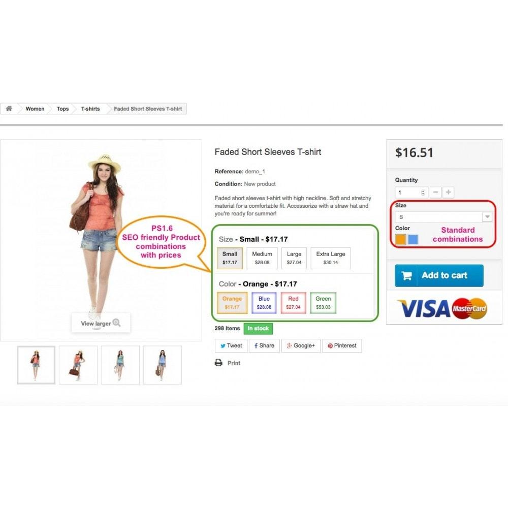 module - Combinaciones y Personalización de productos - Ultimate SEO combination - 3