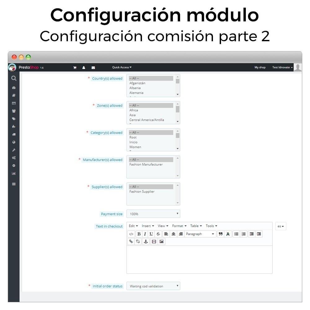 bundle - Pago a la Entrega (contrarrembolso) - Primera venta (módulos imprescindibles para España) - 5