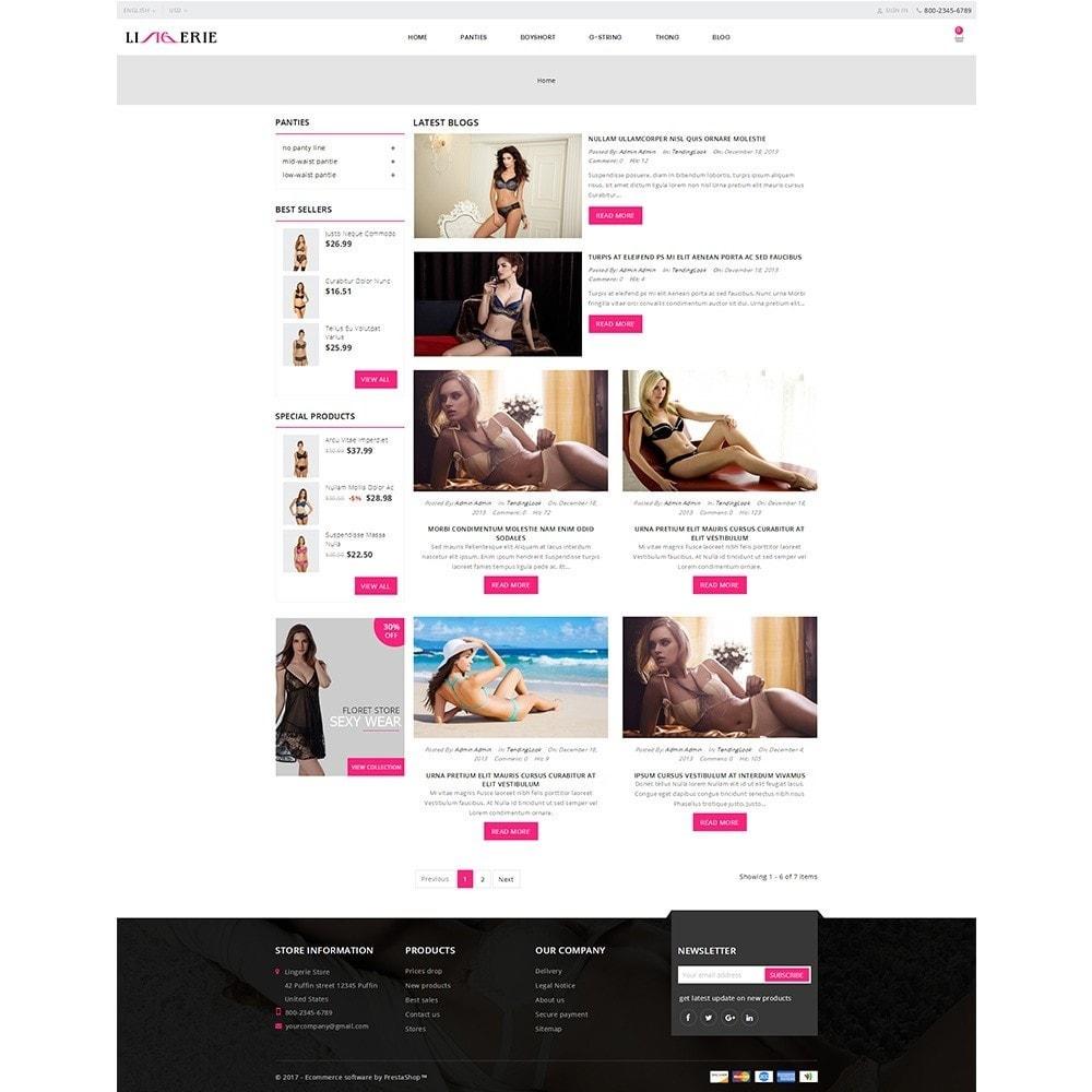 theme - Lingerie & Adulte - Lingerie Store - 8