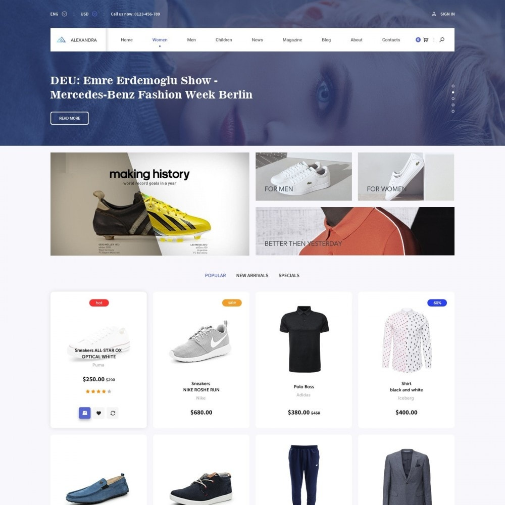 theme - Moda y Calzado - Brand Store of Clothes - 1