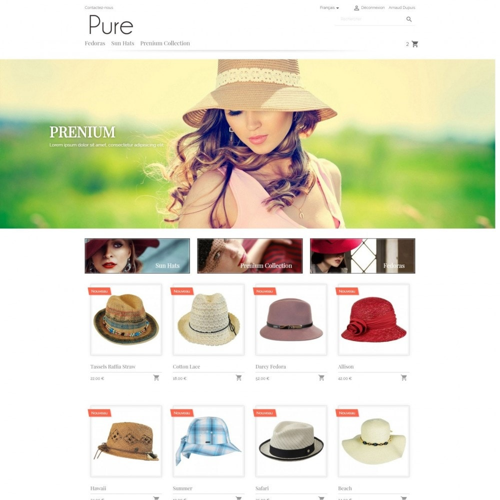 theme - Fashion & Shoes - Pure - 2
