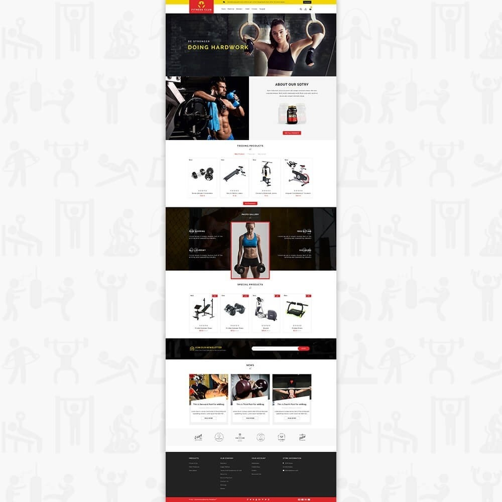 theme - Saúde & Beleza - Fitness Club - The Special GYM Tools Collection - 2