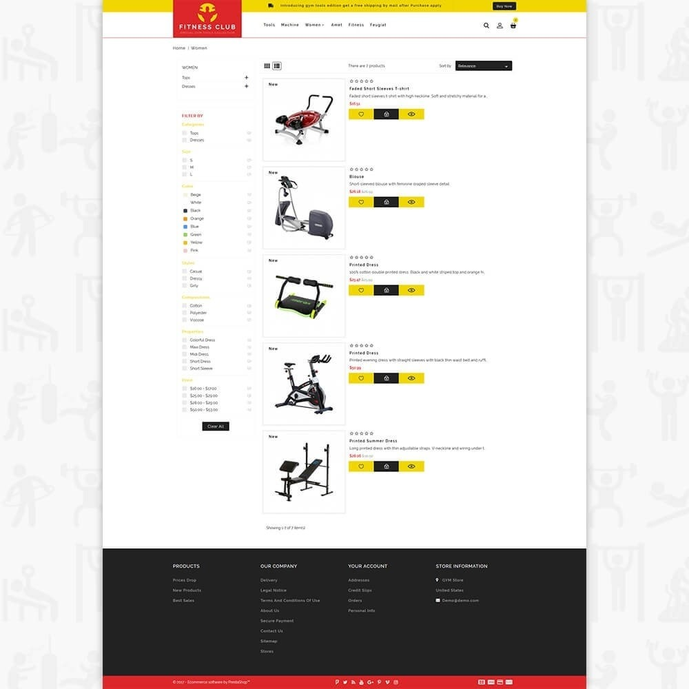theme - Saúde & Beleza - Fitness Club - The Special GYM Tools Collection - 4