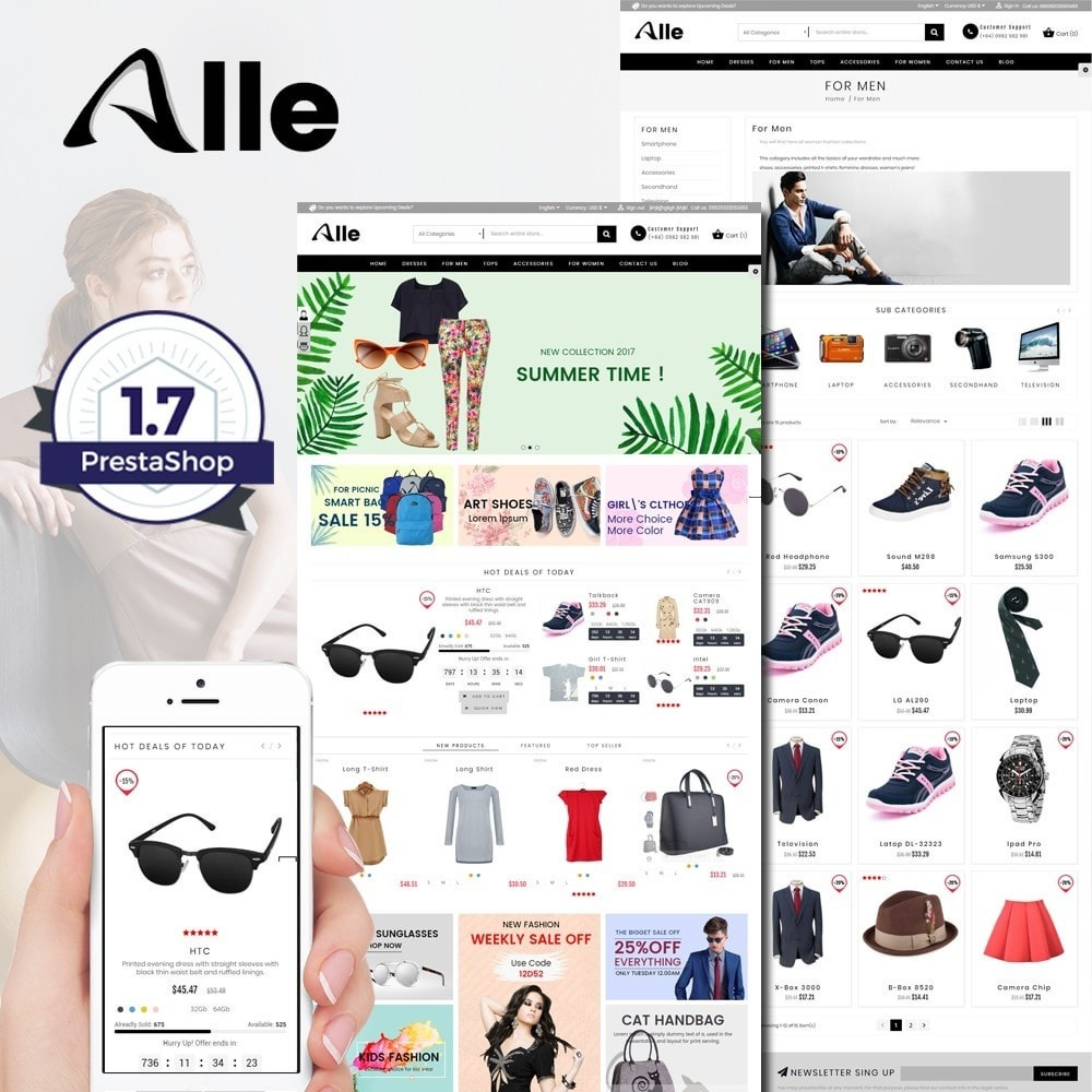 theme - Mode & Chaussures - Alle Fashion Center - 1