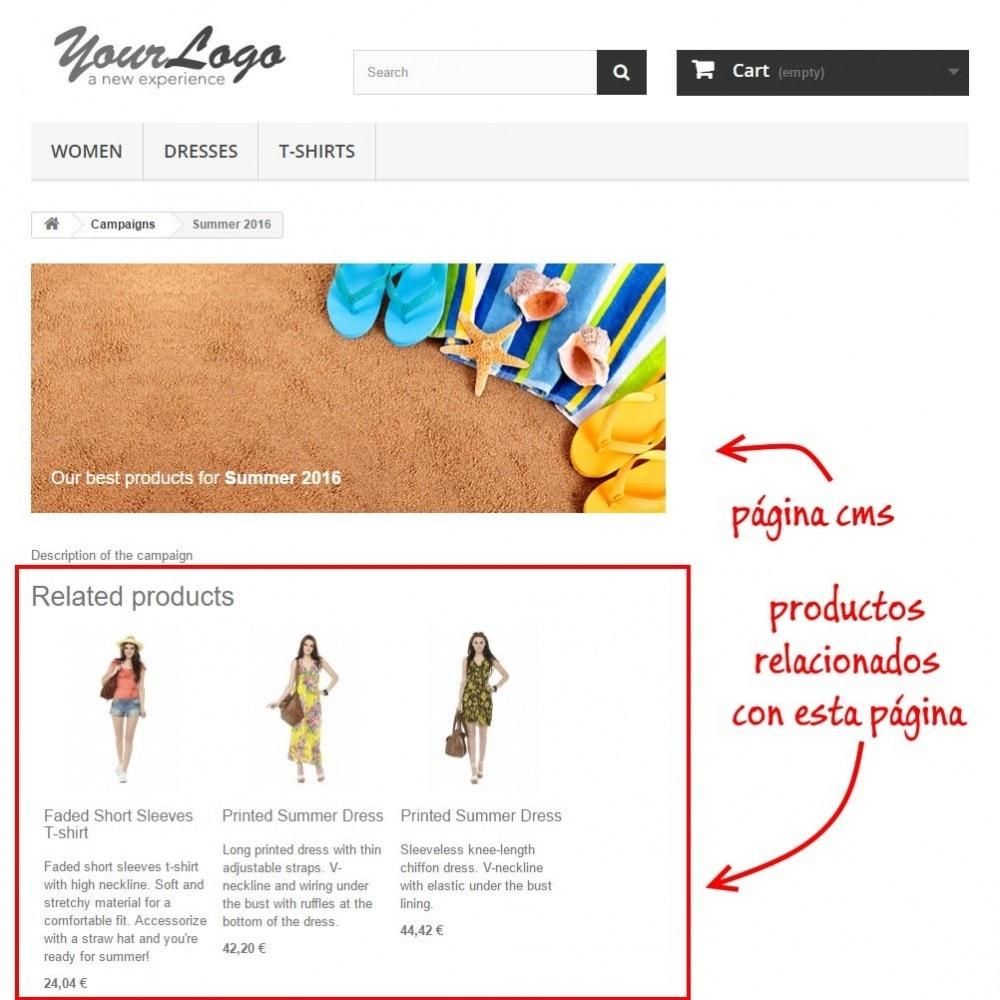 module - Blog, Foro y Noticias - Productos por CMS - 2