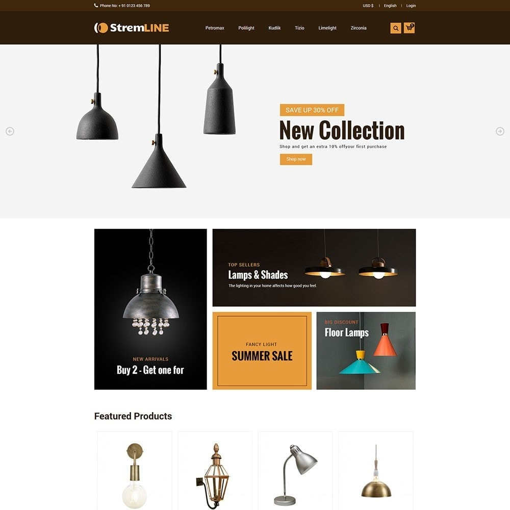 theme - Kultura & Sztuka - Steamlight - Light Store - 2
