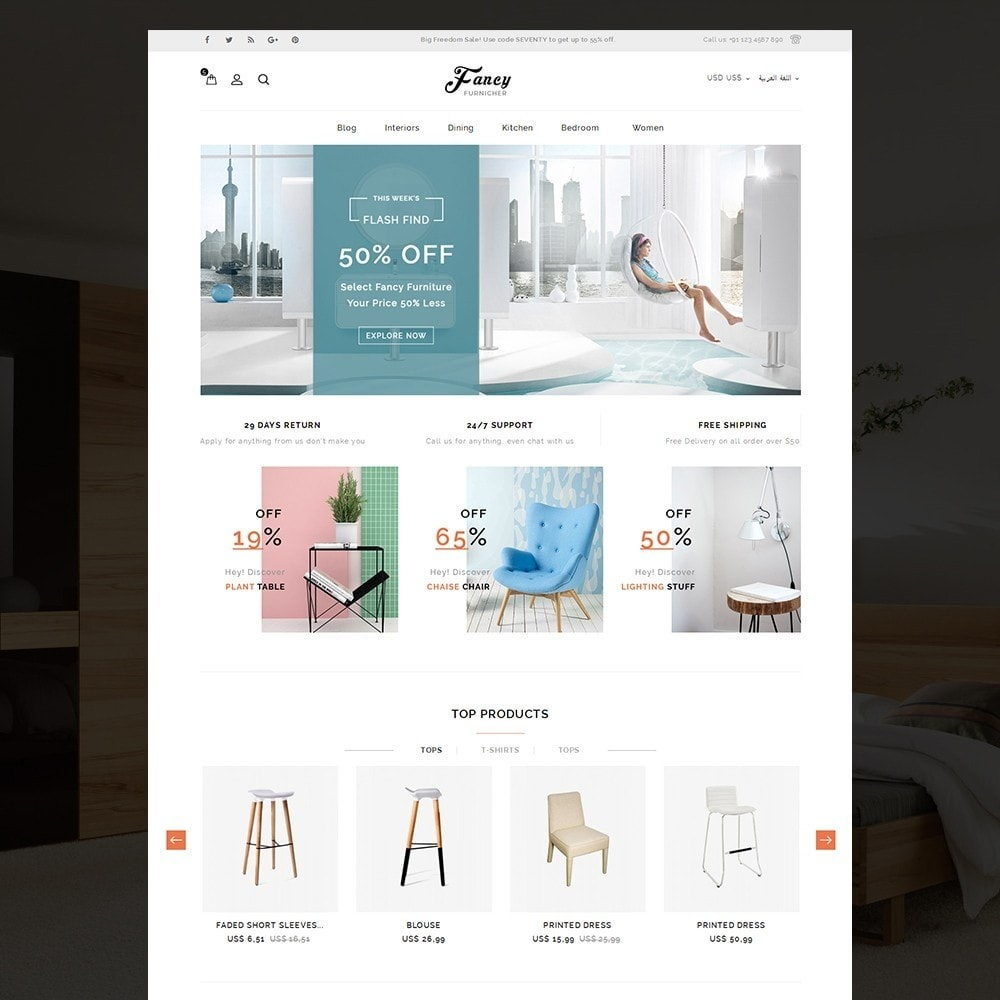 theme - Casa & Giardino - Fancy Furniture Online Store Template - 10