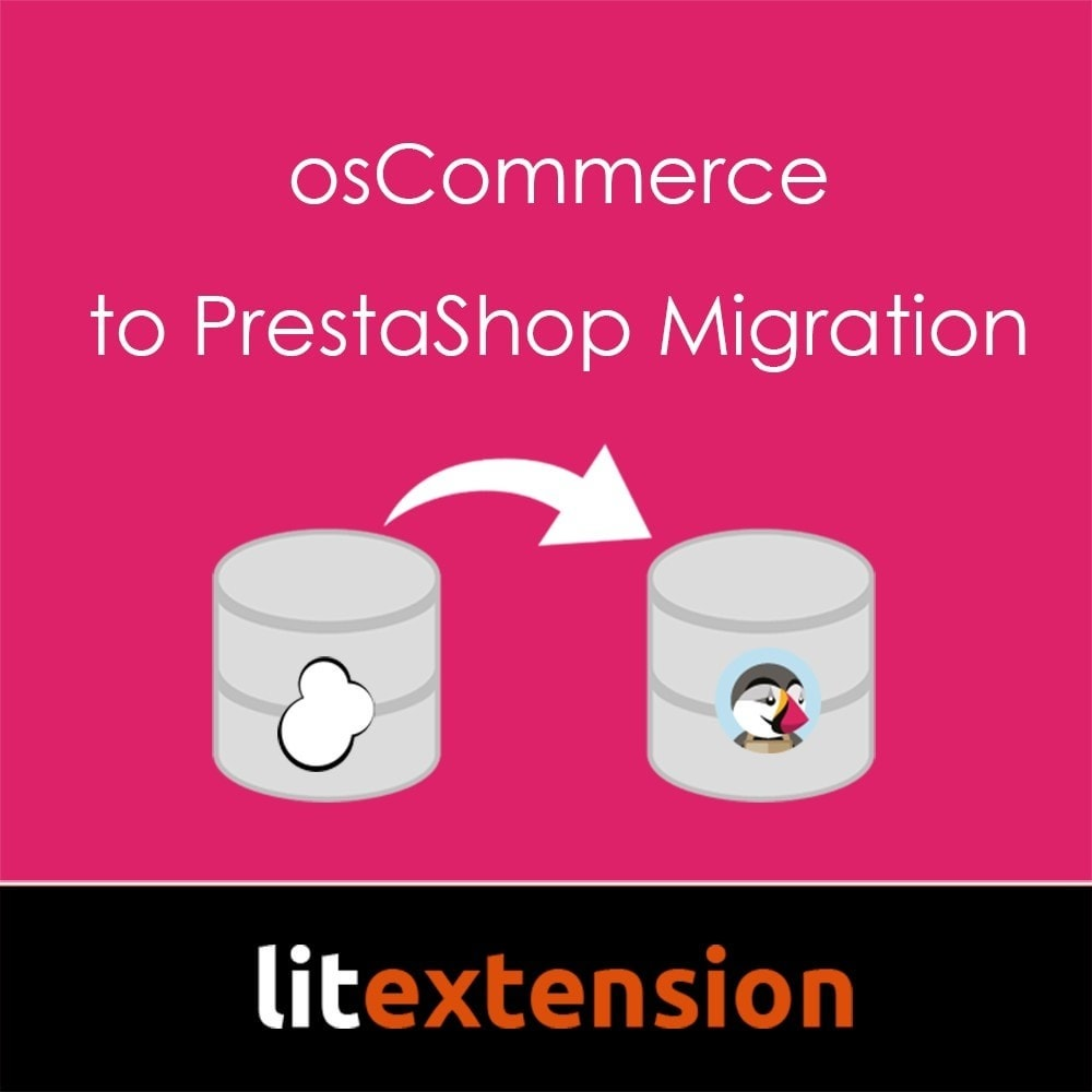 module - Data migration & Backup - LitExtension: osCommerce to Prestashop Migration - 1