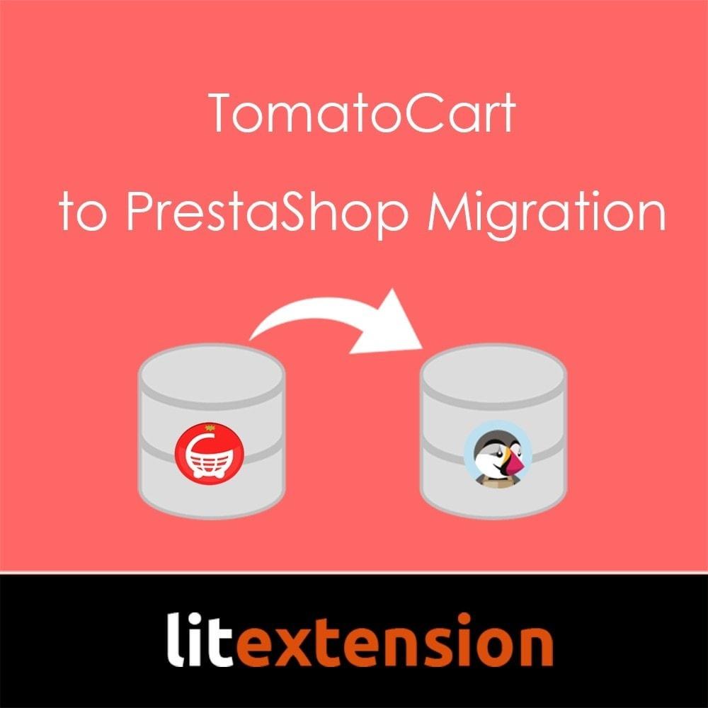 module - Migración y Copias de seguridad - LitExtension: TomatoCart to Prestashop Migration - 1
