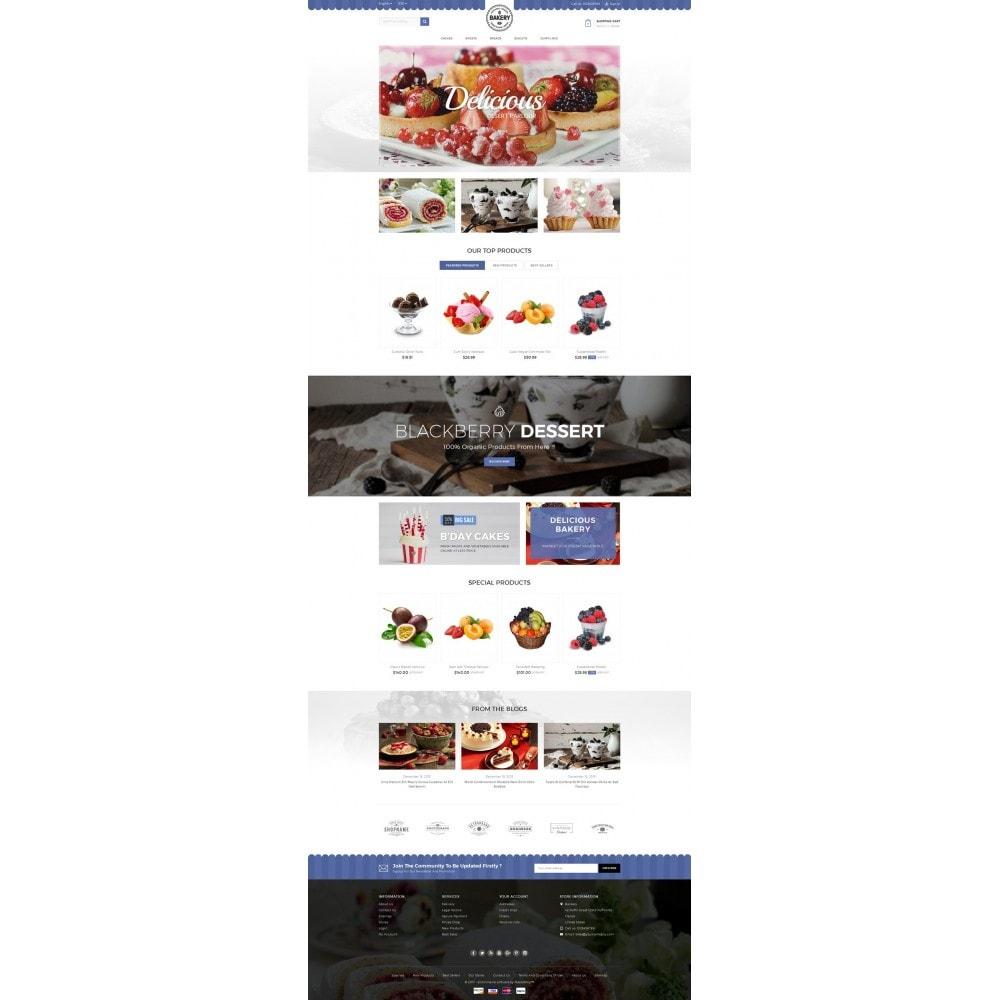 theme - Lebensmittel & Restaurants - Online Bakery Store - 2