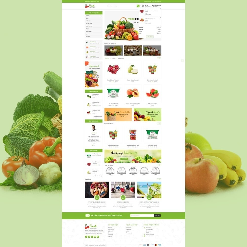 theme - Eten & Restaurant - Fresh Food Store - 3