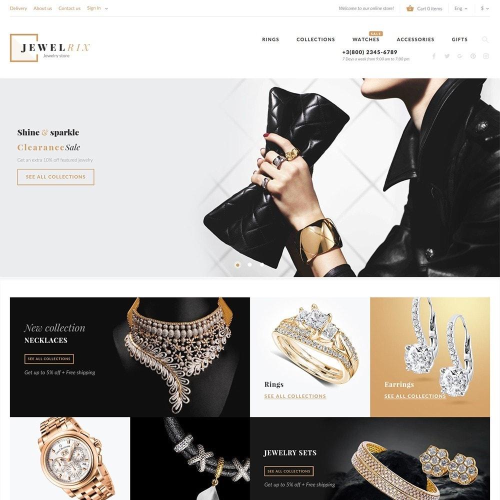 theme - Mode & Chaussures - Jewelrix - Bijoux et articles de beauté thème - 2