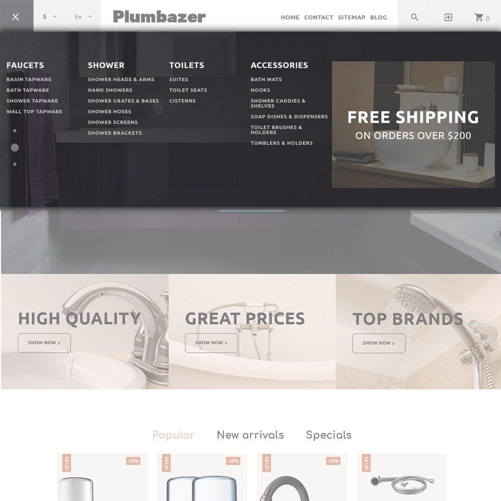 theme - Дом и сад - Plumbazer - Plumbing Responsive - 3