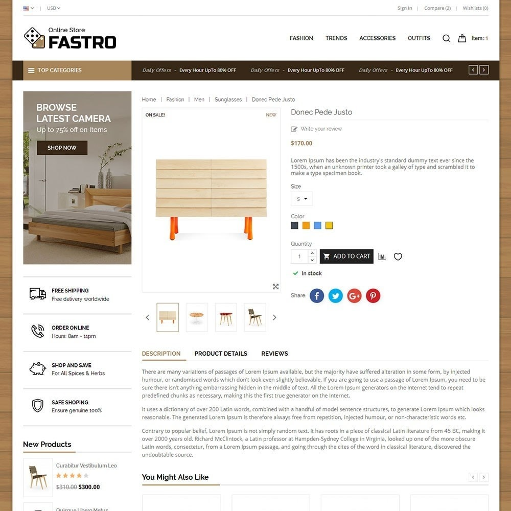 theme - Casa & Jardins - Fastro Furniture Shop - 5
