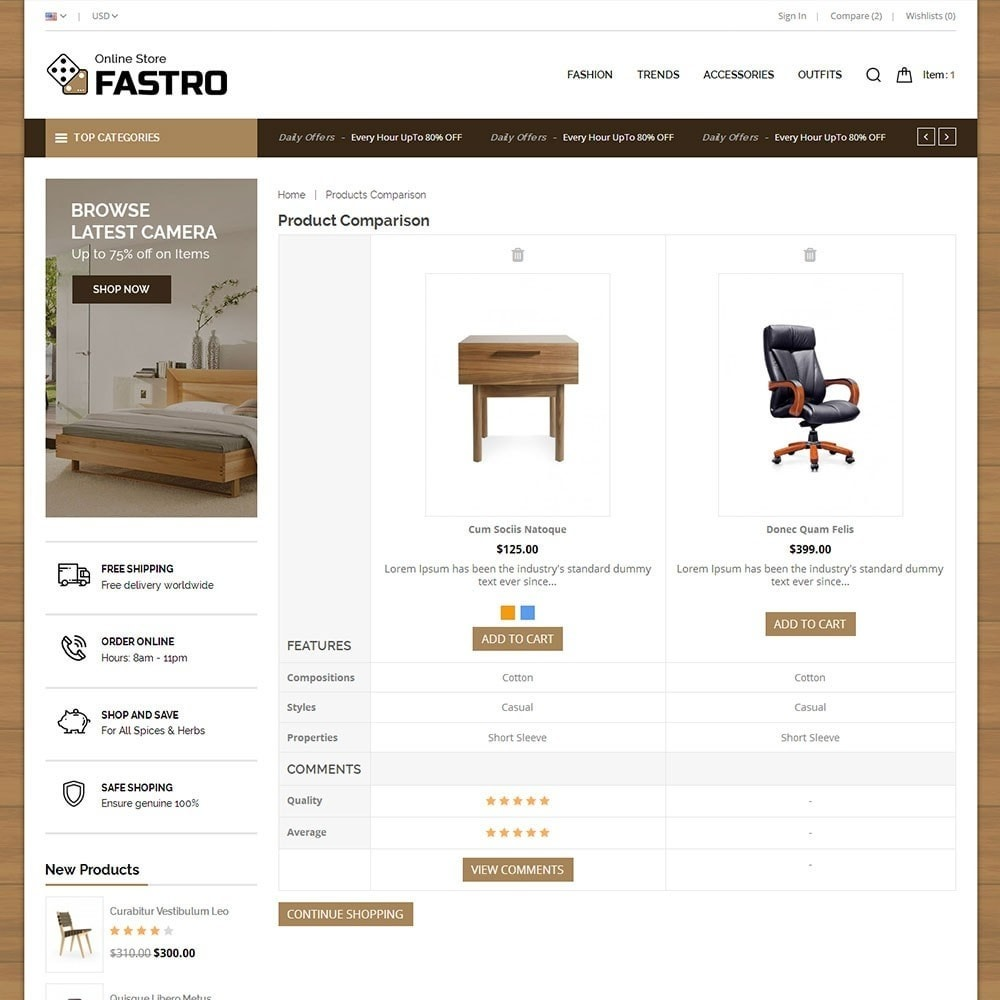 theme - Casa & Jardins - Fastro Furniture Shop - 7