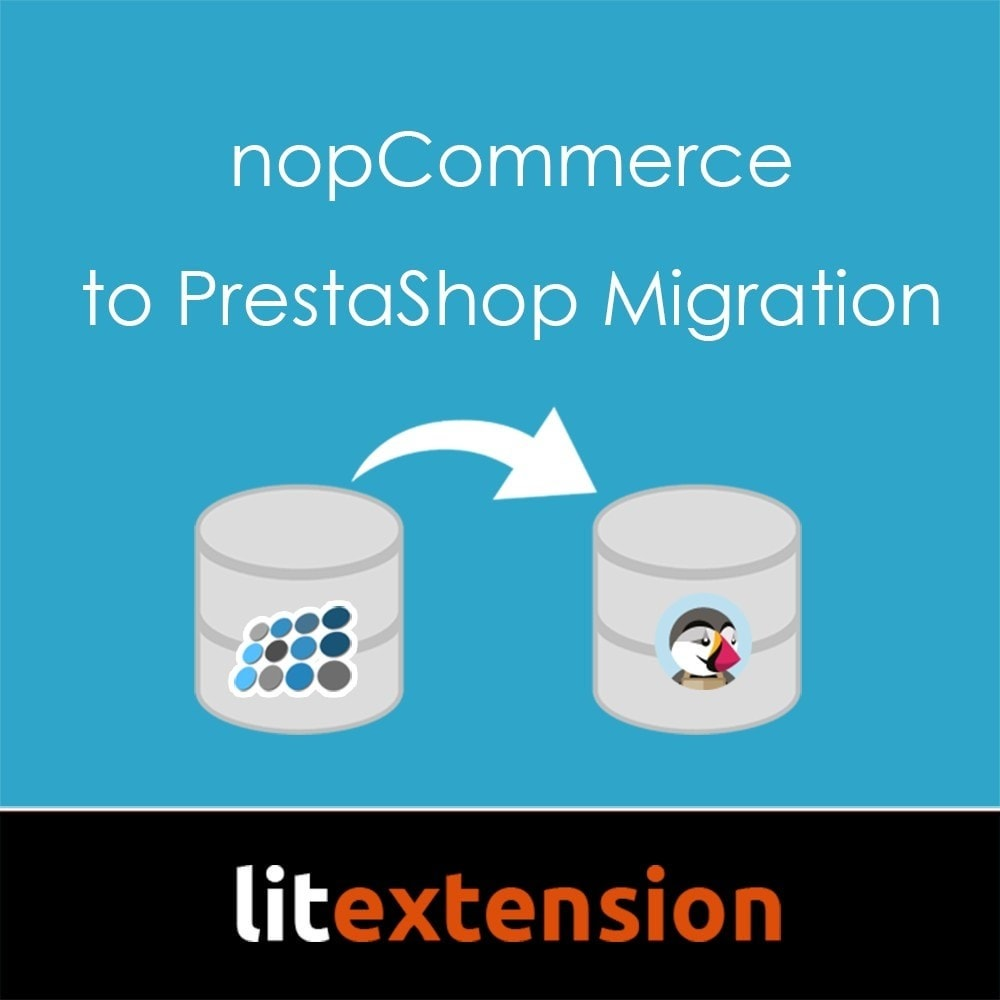 module - Datenmigration & Backup - LitExtension: nopCommerce to Prestashop Migration - 1
