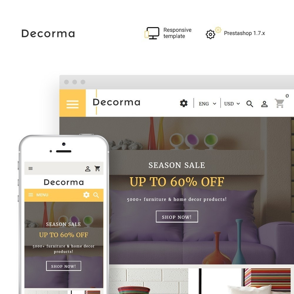theme - Art & Culture - Decorma - Furniture Responsive - 1